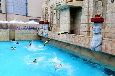 블루원 워터파크의 시원한 다이빙쇼! 관련이미지